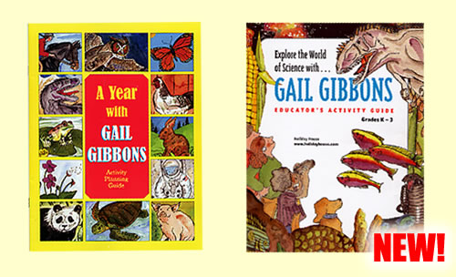 A Year with Gail Gibbons Activity Planning Guide